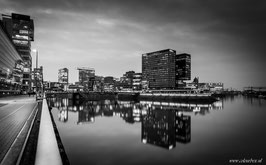 Düsseldorf zwartwit