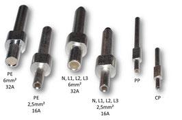 Kontaktstifte männlich für Typ 2 Stecker