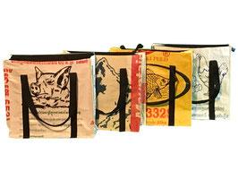 Einkaufstasche quadratisch, 35 x 35 x 14cm
