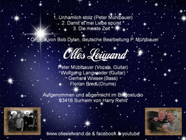 "Single CD ""Olles Leiwand"""