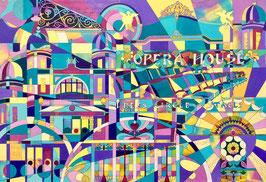 'Matcham Mosaic' Buxton Opera House Art Print