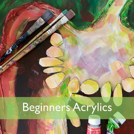 Beginners Acrylics Painting Workshop Tue 10th March 2020