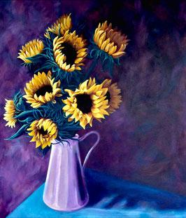 'Sunflowers' Art Print