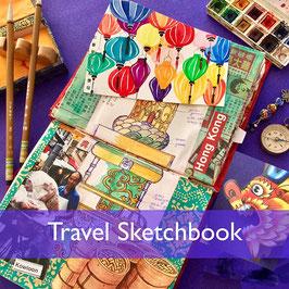 Travel Sketchbook Workshop Saturday 5th September 2020