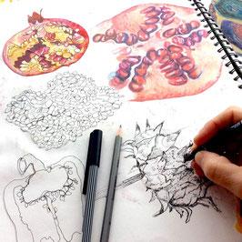 Next Level Drawing Art Workshop:  Thursday 7th October
