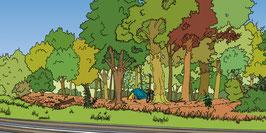 1505: Zelten im Wald