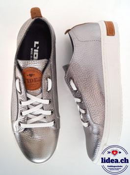 L'IDEA Sneaker 88-1 dunkelsilber