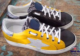 L'IDEA Sneaker 94-1 gelb/schwarz