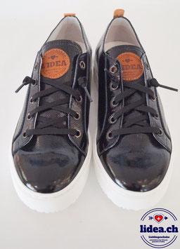 L'IDEA Sneaker 88-1 naplak schwarz