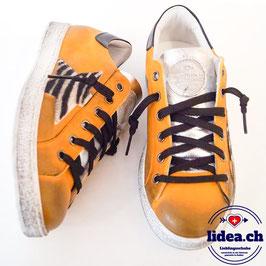 L'IDEA Sneaker 103-1 ockergelb