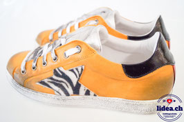 L'IDEA Sneaker 103-2 ockergelb