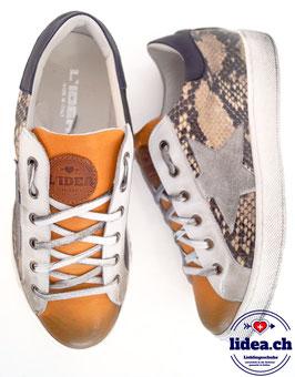 L'IDEA Sneaker 120-1 ockergelb