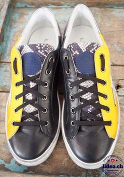 L'IDEA Sneaker 94-2 gelb/schwarz