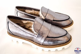 L'IDEA LOAFER MF29 DUNKELSILBER