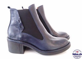 L'IDEA  CHELSEA-BOOT LETI BLAU