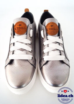 L'IDEA Sneaker 88-3 dunkelsilber