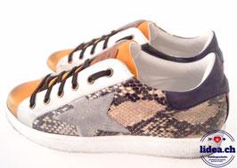 L'IDEA Sneaker 120-2 ockergelb