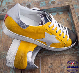 L'IDEA Sneaker 94-3 gelb/schwarz