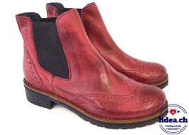 L'IDEA Chelsea Boot 2724 granatapfelrot