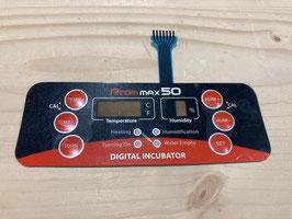 Displayfolie für Rcom Max 50