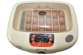 Rcom MAX 20 der Brutapparat für bis 20 Eier