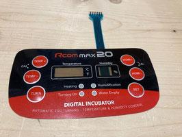 Displayfolie für Rcom Max 20