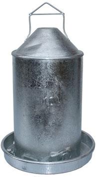 Doppelzilynder Tränke aus Metall 10L