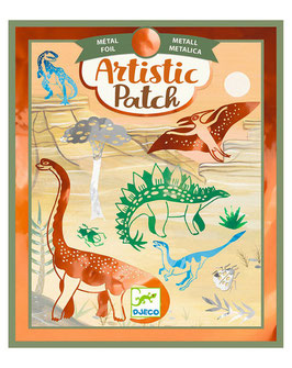 Bastel-Set ARTISTIC PATCH – DINOSAURIER in bunt