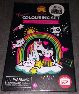 Colouring Set Unicorns and Friends
