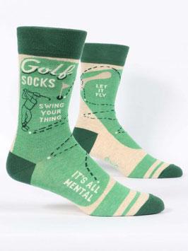 Männer Socken Golf von Blue Q