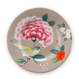 Teller 12cm Blushing Birds Khaki