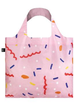 LOQI Einkaufsbeutel - Confetti Bag