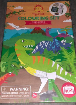 Colouring Set Dinosaurier