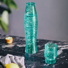 Gläserset Koifisch 4er-Set, aqua mint (DOIY Design)