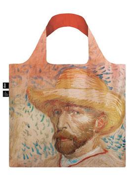 LOQI Einkaufsbeutel - Van Gogh Self Portrait Bag
