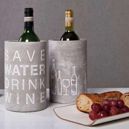"""Weinkühler """"Das Leben ist zu kurz, um schlechten Wein zu trinken"""" von räder"""