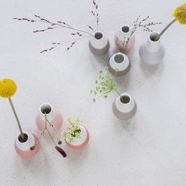 Zuhause Minivase 4er Set Grautöne von räder
