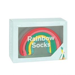 Socken Regenbogen - Rainbow Socks (doiy design)
