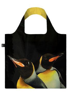 LOQI Einkaufsbeutel - National Geographic Pinguin Bag