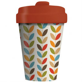 Chic Mic Bamboo Cup To Go Bright Leaves