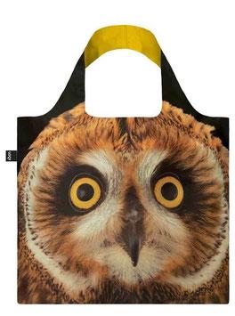 LOQI Einkaufsbeutel - National Geographic Owl Bag