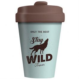 Chic Mic Bamboo Cup To Go Stay Wild