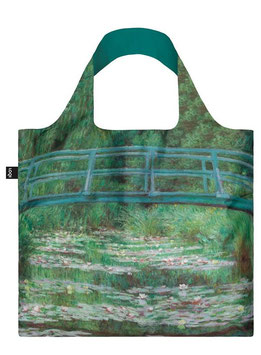 LOQI Einkaufsbeutel - Claude Monet Japan Bridge Bag