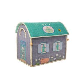 Bast Spielzeugkiste Landhaus Small