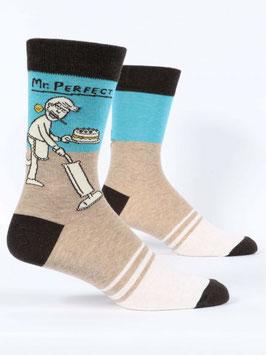 Männer Socken Mr. Perfect von Blue Q