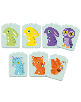Kartenspiel für Kleine LITTLE MATCH 40-teilig