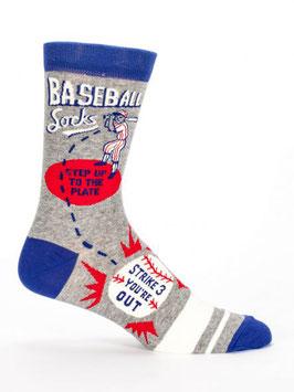 Männer Socken Baseball von Blue Q