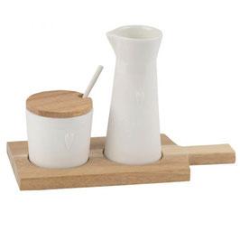 Milch und Zucker Set (4tlg) von räder