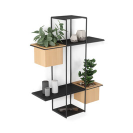 Umbra Cubist Multi Shelf Wall Display