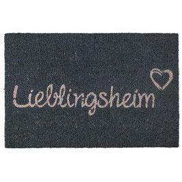 Fussmatte Lieblingsheim